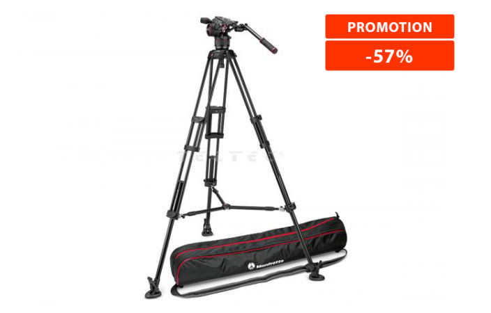 Manfrotto NITROTECH N8 & 546B TWIN MS